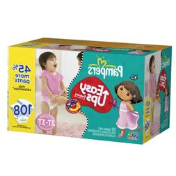 Pampers Easy Ups Trainers for Girls Value Pack, Size 2T/3T,