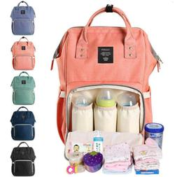 Ergo Diaper Bag Backpack Waterproof Baby Nappy Bottle Holder