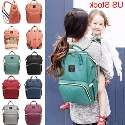 Ergo Queen Diaper Bag Backpack Waterproof Maternity Nappy La