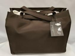 Nicole Miller Espresso Diaper Messenger Bag, Assorted Babies