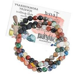 Subherban Essential Oils Aromatherapy Bracelet or Necklace -