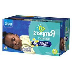 Pampers Extra Protection Diapers Size 3, 92 ea
