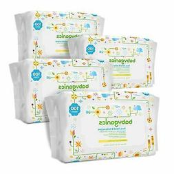 Babyganics Face, Hand & Baby Wipes, Fragrance Free, 240 Coun
