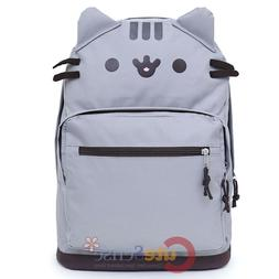 New Facebook Pusheen The Cat Character Face School Backpack
