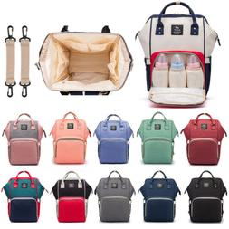 fashion waterproof large baby diaper nappy bag