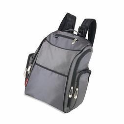 Fisher-Price FastFinder Backpack Diaper Bag - Grey
