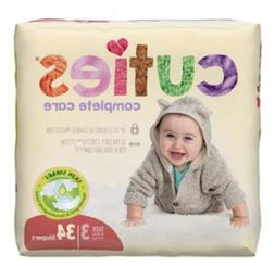 Cuties® First Quality Complete Care Baby Diaper, Size 3