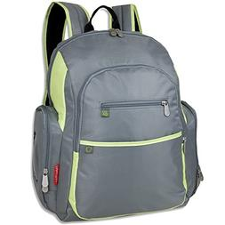 Fisher Price Backpack Diaper Bag - Fastfinder Colorblock in