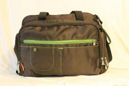 Fisher Price Baby Diaper Bag Brown Green Shoulder Strap
