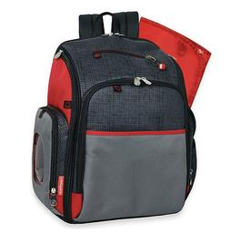 Fisher-Price Deluxe FastFinder Unisex Backpack Diaper Bag
