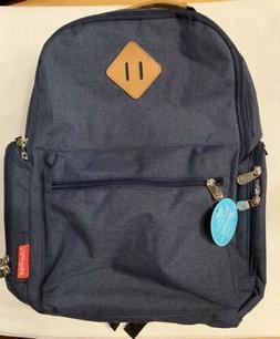 Fisher-Price River Backpack Diaper Bag Bookbag - Navy Blue