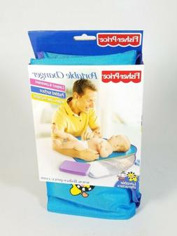 Fisher Price Travel Padded Portable Diaper Changing Pad w/ W