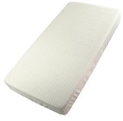 Kushies Fitted Crib Sheet | Finished Edges & Fully Elasticiz