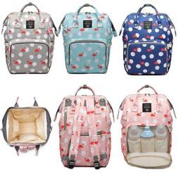 LEQUEEN Diaper Bag Backpack Multifunction Waterproof Materni