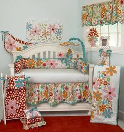 Cotton Tale Designs 100% Cotton Bright Colorful Floral & Red