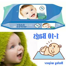 Flushable Simply Clean Baby Wipes Alcohol-free Hypoallergeni