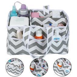 Folding Mummy Bag Baby Diaper Nappy Storage Bags Hanging Bas