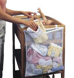 <font><b>Baby</b></font> Cot Bed Hanging Storage Bag Crib Or
