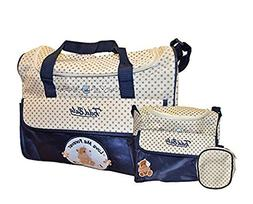 Todd Baby 4pc Food Bag Holder Set Diaper Nappy Changing Styl