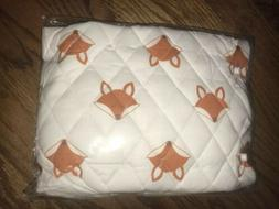 Bacati Fox Changing Table Cover