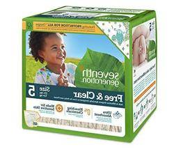 Seventh Generation Free and Clear Stage 5 Baby Diaper - 46 p