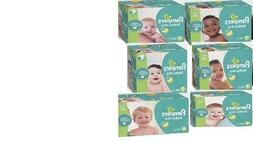 FREE SHIPPING PAMPERS Baby Dry Diapers Size 1, 2, 3, 4, 5, 6