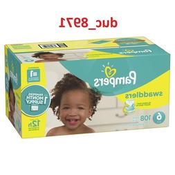 FreeShipping - Pampers Swaddlers Diapers Size 6 108 Count