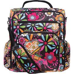 Trend Lab French Bull Convertible Backpack Diaper Bag Diaper