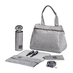 Lassig Women's Glam Rosie Baby Diaper Bag, Anthracite Glitte