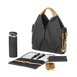 Lassig Green Label Neckline Bag, Denim Black