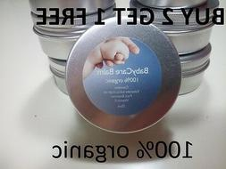 HEALING DIAPER RASH & ECZEMA 100% organic babycare balm with