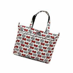 Ju-Ju-Be Hello Kitty Collection Super Be Zippered Tote Diape
