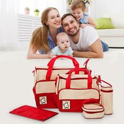 High Quality Baby Diaper Bag 5/pc Set