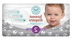 honest baby diapers pandas size 2 40