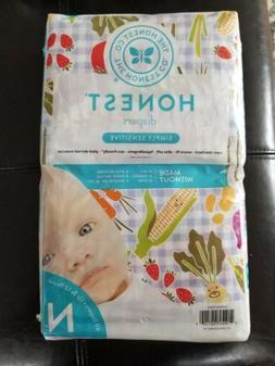 Honest Diapers Simply Sensitive Garden Party Size NB up to 1