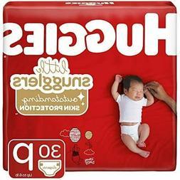 Huggies Little Snugglers Baby Diapers, Size Preemie, 30 Ct