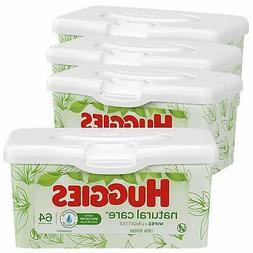HUGGIES Natural Care Unscented Baby Wipes Sensitive 4 Refill