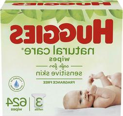 huggies natural care unscented baby wipes sensitive