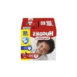 HUGGIES Snug & Dry Diapers, Size 5, 96 Count