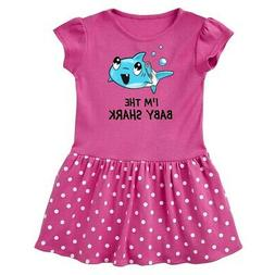 Inktastic I'm The Baby Shark- Cute Infant Dress Sharks Tooth