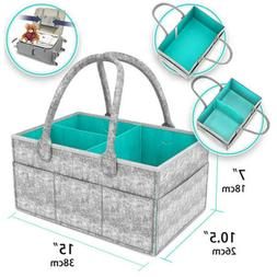 Infant Baby Diaper Wipes Bag Caddy Storage Bin Box Nappy Org