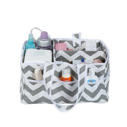 Infant Nappy Organizer Basket Baby Diaper Wipes Bag Caddy Nu