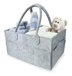 Infant Nappy Storage Bin Baby Diaper Wipes Bag Caddy Organiz