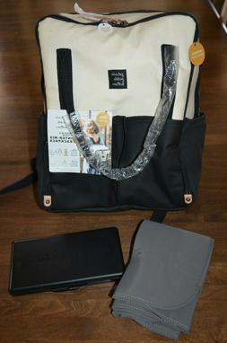 Petunia Pickle Bottom Intermix Backpack Diaper Bag Natural B