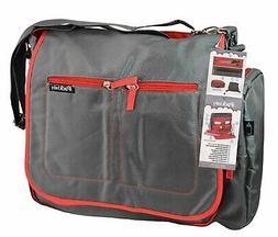 Ipack Convertible 2-in-1 Messenger/Backpack Baby Diaper Bag,