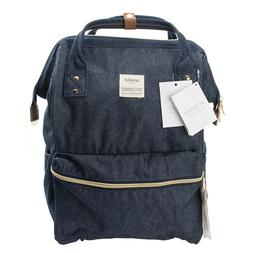 Anello Jean Blue Japan Unisex Fashion Backpack Rucksack Diap
