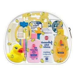 CONVENIENCE KITS Deluxe Baby Bath 9 PC Kit Featuring: Johnso