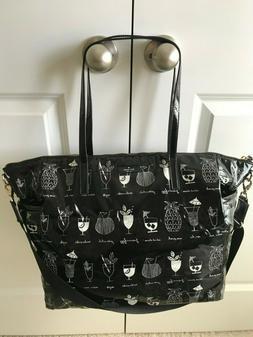 Kate Spade Baby Diaper Bag Black & White Vinyl
