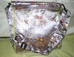 Kecci Mommy Backpack Diaper Bag Asian Brocade  Assorted Colo
