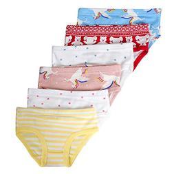 Closecret Kids Series Baby Soft Cotton Panties Little Girls'